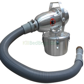 Pest control fogging is easy and effective with the Deluxe Fogger.